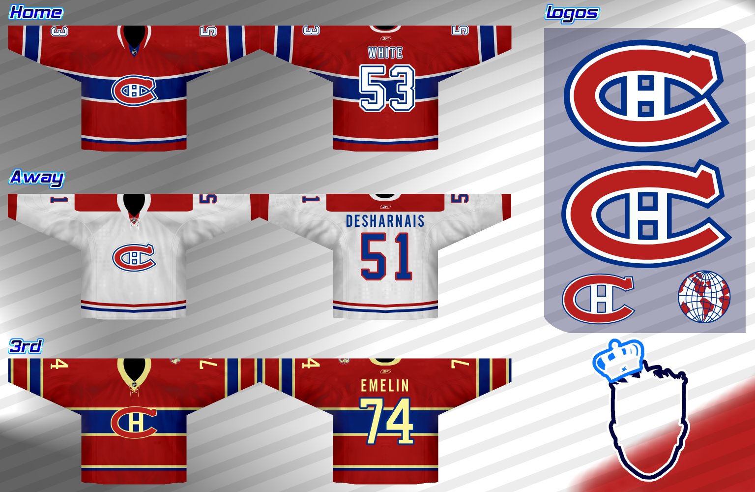 Remodeler la LNH - NHL Redesign - Montreal Canadiens